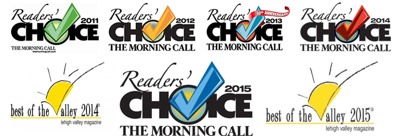 readers choice and best of the valley 2011-2015 better