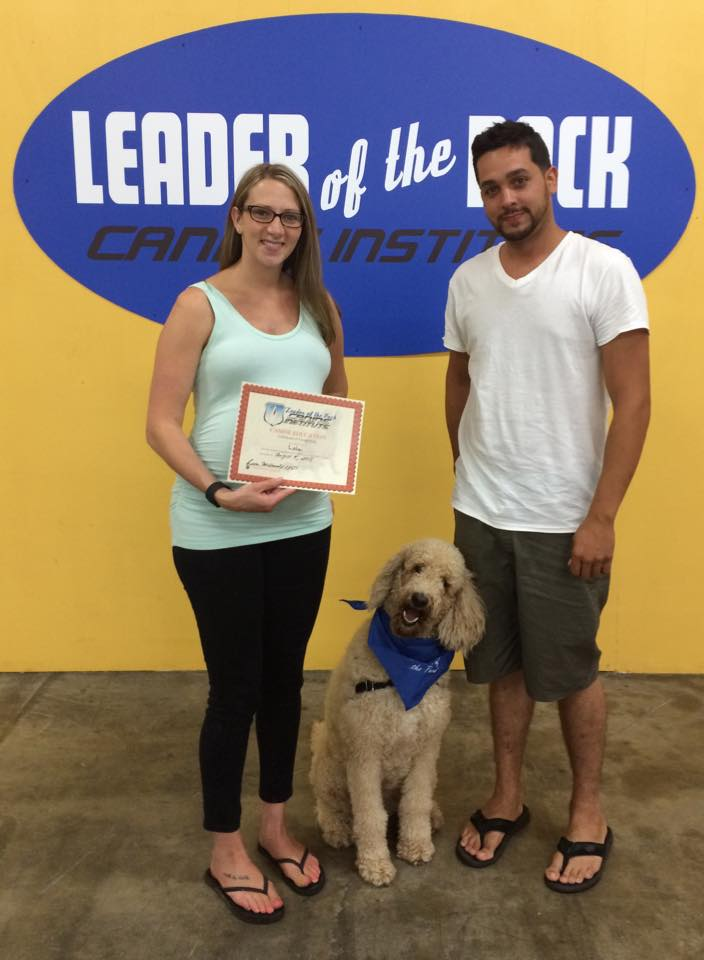 Congratulations Lola! - Leader of the Pack