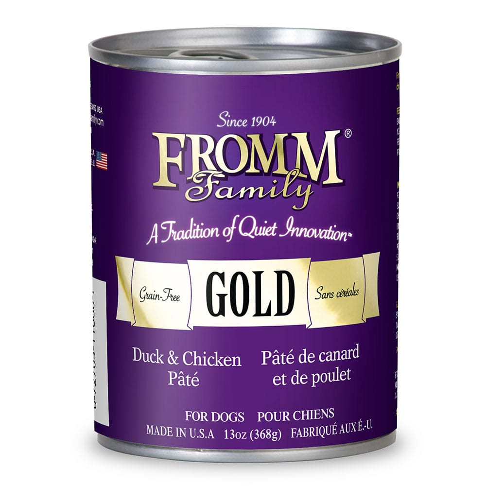 13oz. Fromm Gold Duck & Chicken Pate