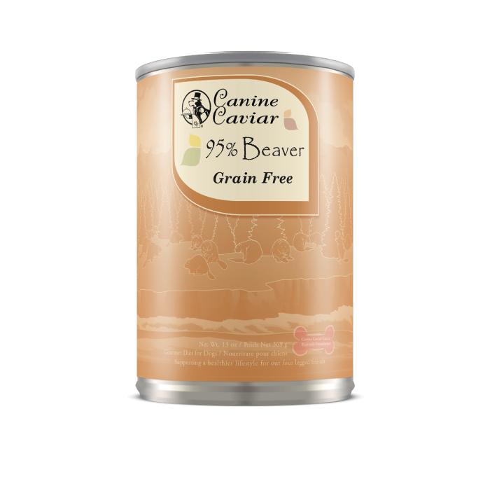 13.2oz. Canine Caviar Beaver