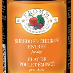 13oz. 4 Star Shredded Chicken Entrée