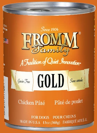 13oz. Fromm Gold Chicken Pate